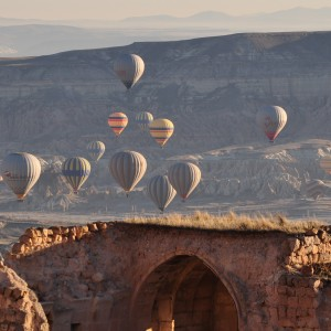 Hot air ballons Cappadocia Turkey