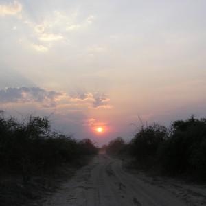 Botswana-Chobe-sunset
